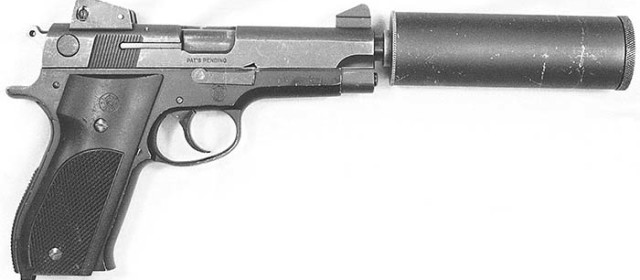 Smith & Wesson's Suppressed Model 39 Was for Shooting Guard Dogs