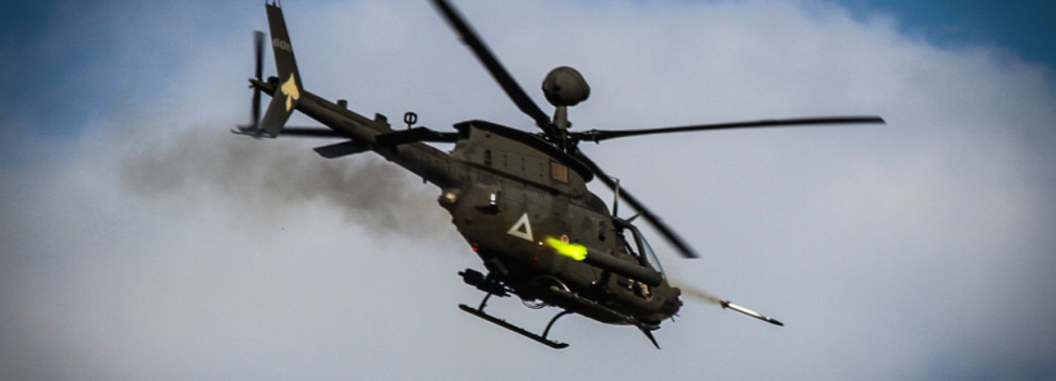 U.S. Army Scout Copters Head to South Korea for One Last Mission