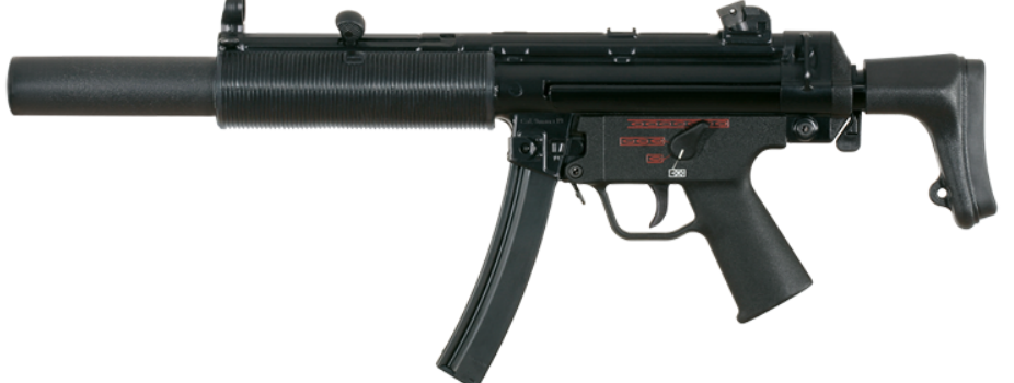 Heckler & Koch's Suppressed MP5 Is Only as Loud as a Shout