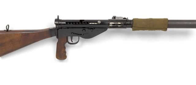 British Commandos Killed Quietly With Their Suppressed Sten Guns