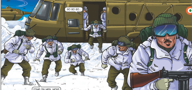 The World's Highest War … in Comics