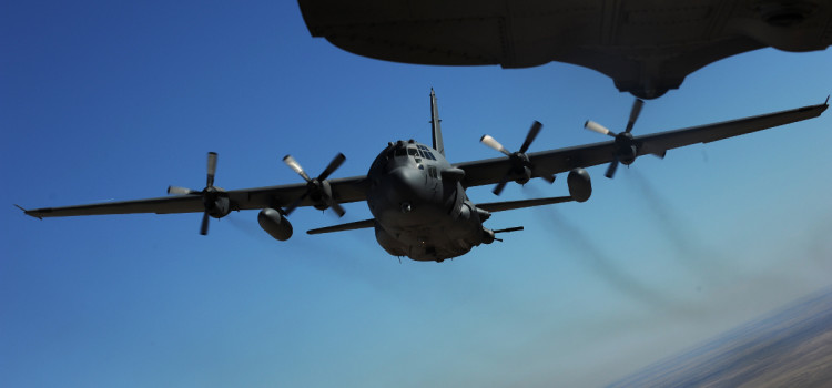 This Is How U.S. Air Force Gunships Hunted Terrorists in