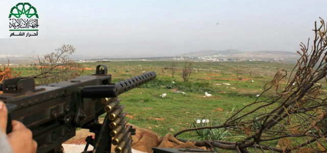Yikes — Syrian Rebels Wield Old Aircraft Machine Guns