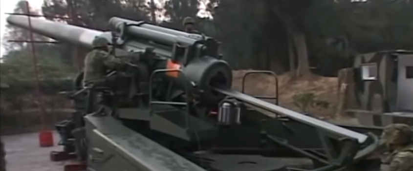 These Taiwanese Howitzers Are Enormous
