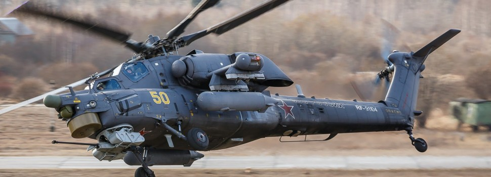 Russian Mi-28 Gunship Goes Down in Homs