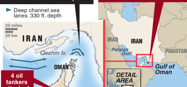 Editorial: The U.S. can protect tankers from Iran, with help from allies
