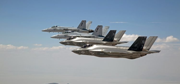 It's Better When F-35s and Super Hornets Work Together