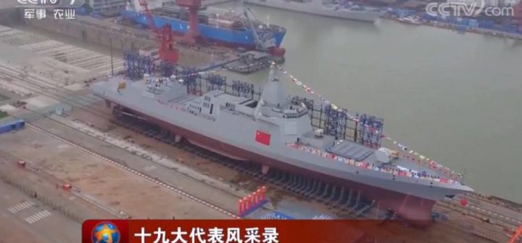 China's Giant New Cruiser Matches America's Naval Firepower