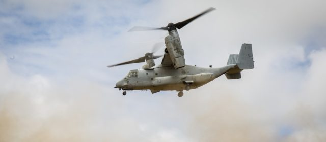The U.S. Marines Want to Add Extra Firepower to Tiltrotors