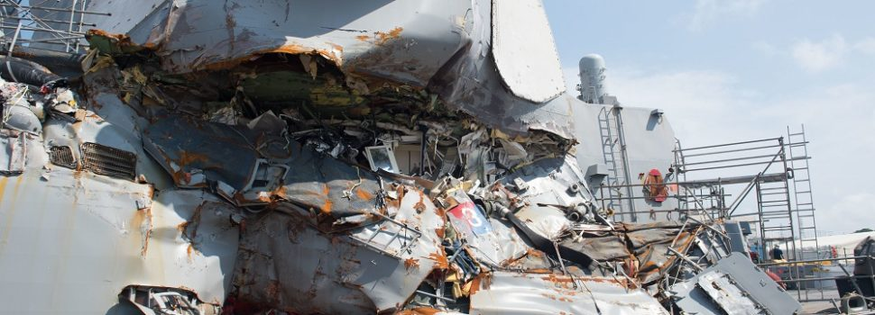U.S. Navy drops criminal charges against USS Fitzgerald officers in case of 2017 fatal collision