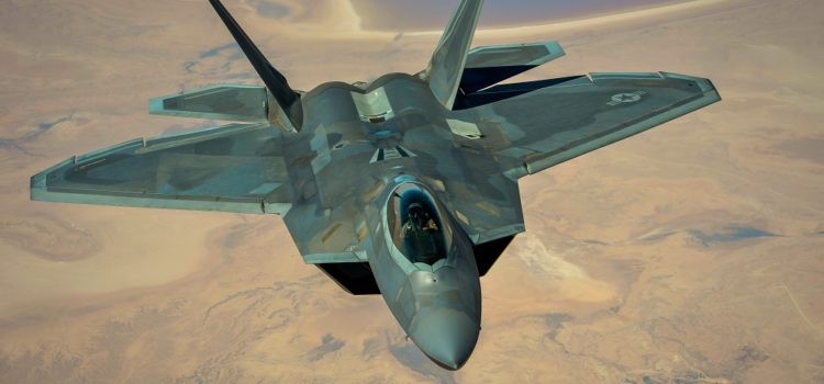 F-22s Act as Flying Scouts Over Syria
