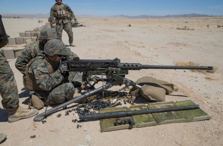 Marine special ops. ditching the M2 .50 cal. after 80 years of military use
