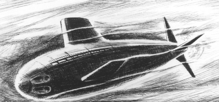 Sweden's Never-Built Nuclear Submarine Would've Been a Hazard
