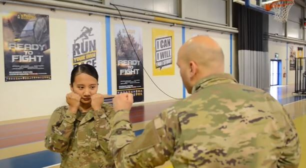 Air Force adds hand-to-hand combat as requirement during basic training