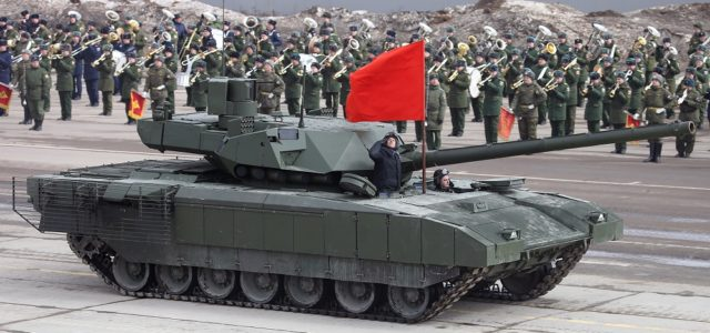 Russia Is Making Progress on Its Abrams-Killing Tank