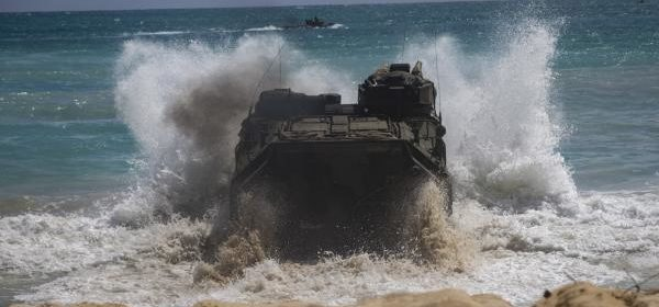 Operation Gator sees U.S. National Guard run through first amphibious assault exercise in decades