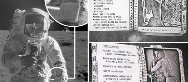 Airmen's prank on Apollo 12 crew led to pornography being brought to the moon