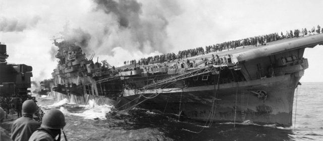 The Captain of the Carrier USS 'Franklin' Is a Case Study in How Not to Lead
