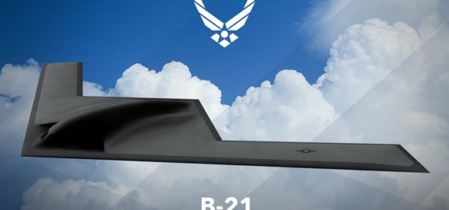 Testing location, dates set for new B-21 stealth bomber