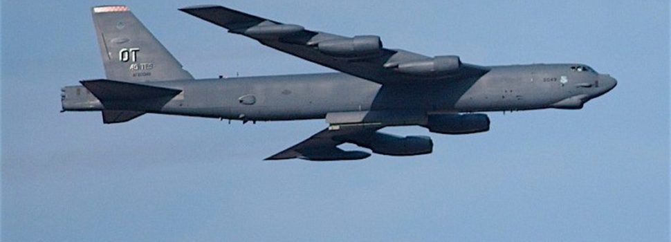 Not just carriers: U.S. also sending four B-52 bombers to Middle East