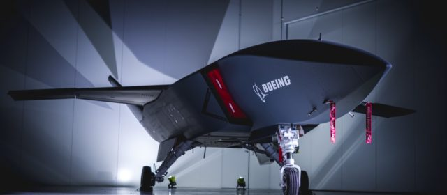 Boeing reveals its unmanned 'loyal wingman' aircraft