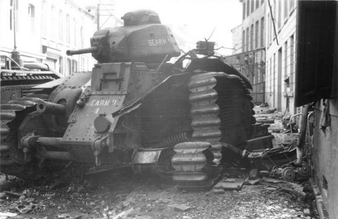 France's Monstrous Char B1 Tank Ate German Panzers for