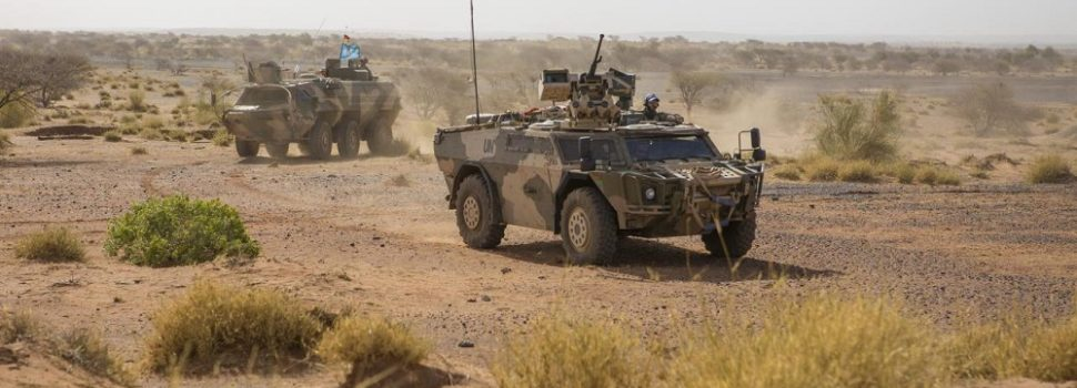 Mali's Desert Climate Is the Doom of Armored Vehicles