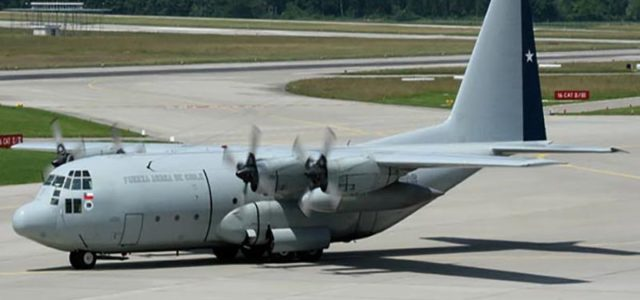 Chilean Air Force says C-130 gone missing with 38 on board 'wrecked'