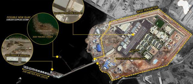 Chinese Navy expanding base in Africa, satellite images confirm