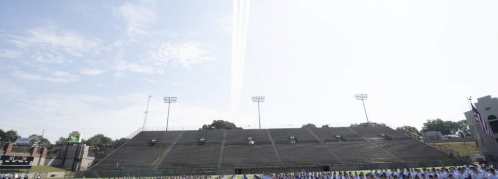 "Air Force graduates largest class in history, 745 officers dubbed the ""Godzilla class"""