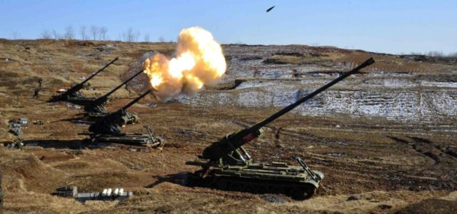 North Korea Would Target U.S. Tanks With Lots of Artillery