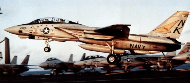 In 1987, U.S. Navy F-14s Engaged Phantom Iranian Planes