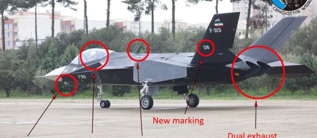 Iran's Weird, Faux 'Stealth Fighter' … Can Actually Move!