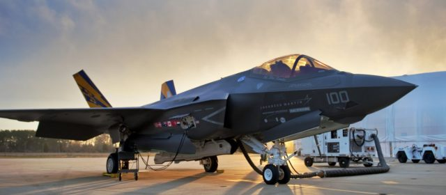 Lockheed's F-35 fighter program gets $34 billion contract, the biggest yet