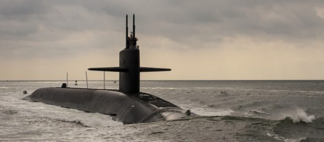 The U.S. Navy Readies Its New Missile Submarine