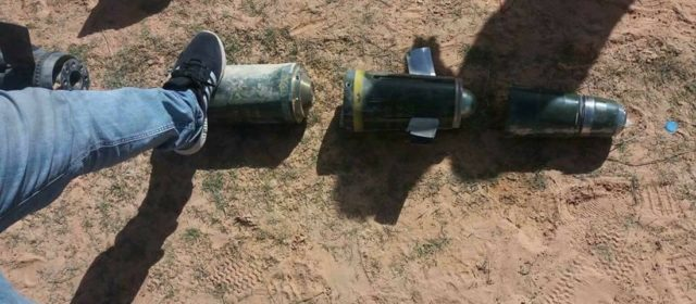 Somebody's Popping Off Laser-Guided Shells in Libya