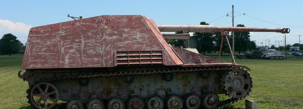 The Nashorn Was Germany's World War II Tank Sniper