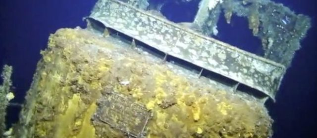 Missing WWII submarine found after 75 years off the coast of Okinawa