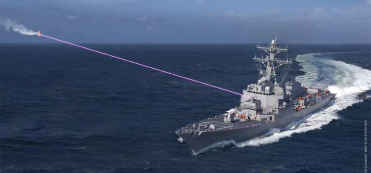 Naval destroyers could be equipped with missile eliminating laser system by 2021