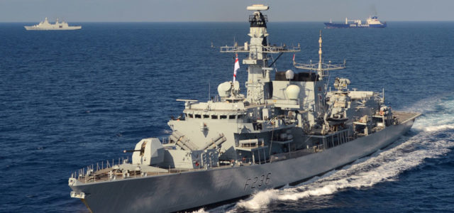 Royal Navy forced to target Iranian boats attempting to seize British oil tanker in Gulf