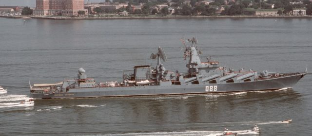 A Russian Fleet Gathers Near Syria