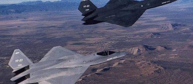 The YF-23 Stealth Fighter Won't Save Us