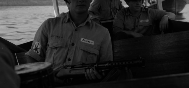 On the Far East Station With the Royal Navy's Big, Sturdy Submachine Gun