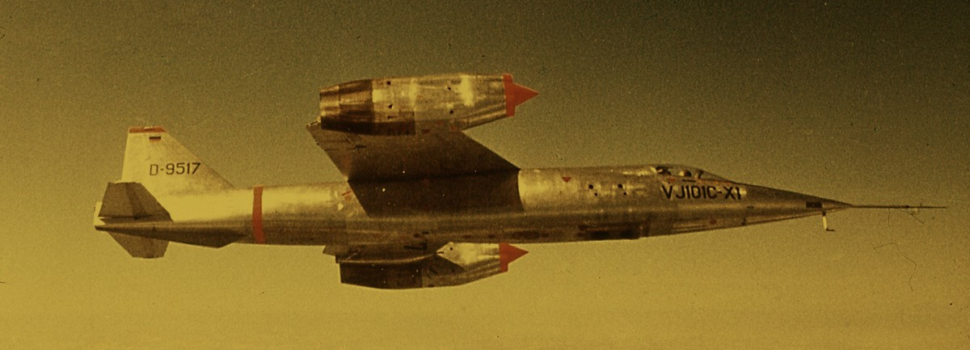 Germany's Failed Attempts to Build a Cold War Jump Jet