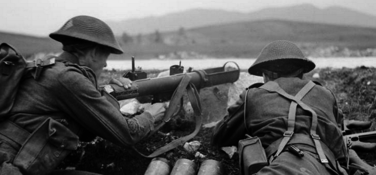 With His Grenade Launcher, a Lone British Soldier Beat Back a German Tank Attack