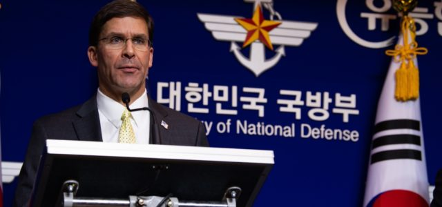 US urges S Korea to pay more for troops and ease tension with Japan