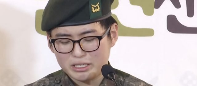 "ROK Army kicks out transgender after surgery for being a ""person with a disability"""