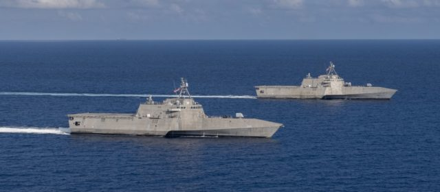 Navy looking to retire first of four LCS ships despite only being six years old