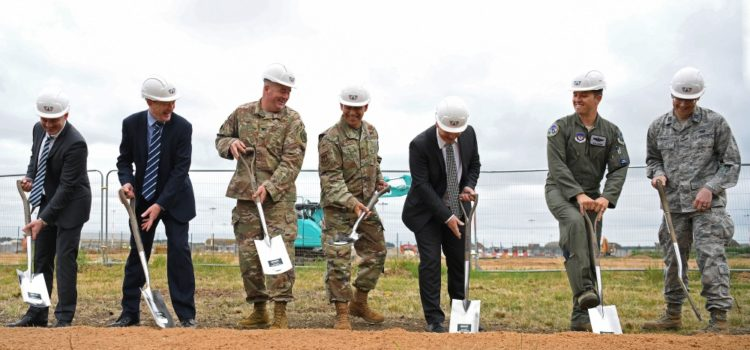 Construction begins for first permanent U.S. F-35 base in Europe
