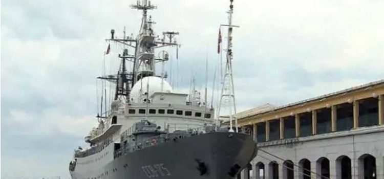 Russian surveillance ship has been spotted off the coast of Florida